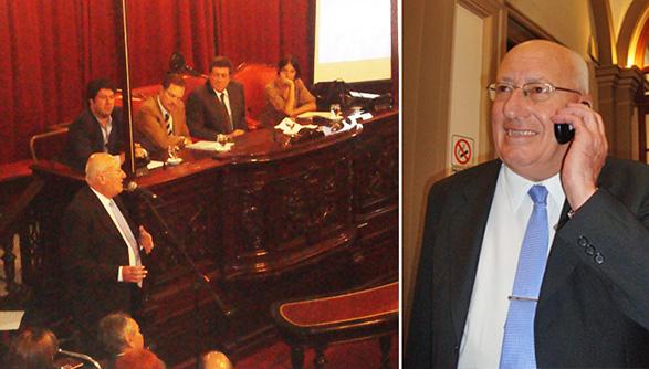 más imágenes del acto en el Senado Provincial