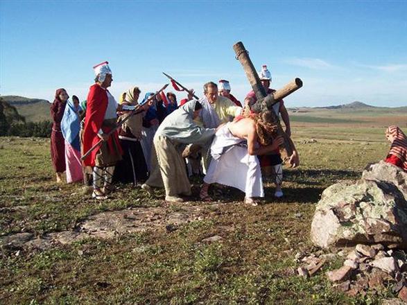 """Castelli prepara su 16º presentación de """"Jesús, el camino"""""""