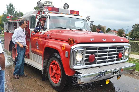 Bomberos de G. Paz participó del operativo de ayuda en La Plata