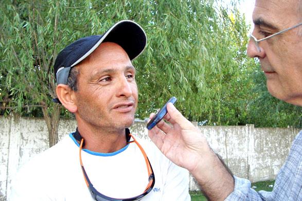 """""""Me dí dos gustos: correr el Ironman y tirarme del puente mas alto del mundo"""" dijo Felipe Tebes"""