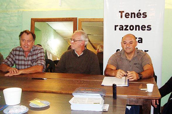 El GEN presentó sus candidatos en Chascomús y en Gral. Paz