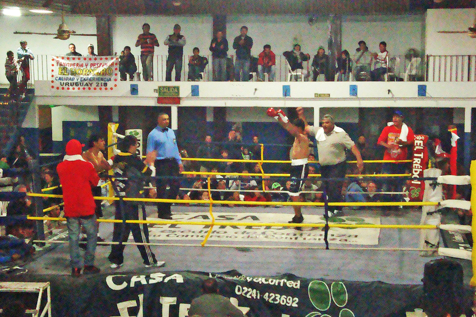 Boxeo: En discreta pelea, Tellechea ganó con claridad, después que a Demario lo despojaran otra vez de una victoria