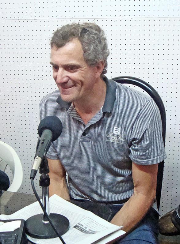 Omar Fredes: campeón argentino de ciclismo en pista