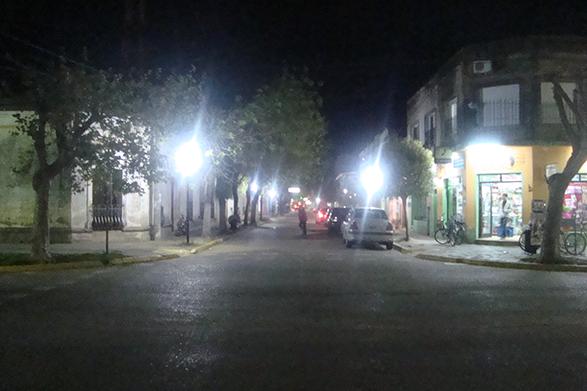 Municipalidad de General Paz: La reconversión lumínica continúa su avance