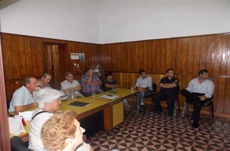 La Cámara de Comercio recibió a los responsables de la comisaría local