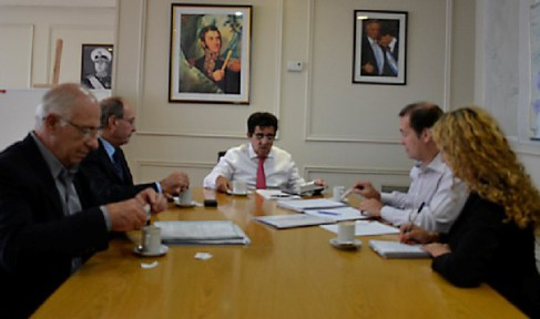 Chascomús: El intendente Gobbi se reunió con el Ministro de Infraestructura Provincial