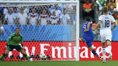 Pese a jugar su mejor partido en el mundial, la Argentina no pudo traer la copa