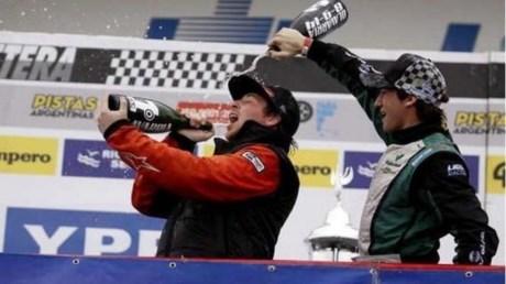 Pablo Costanzo y su primer triunfo en el TC pista