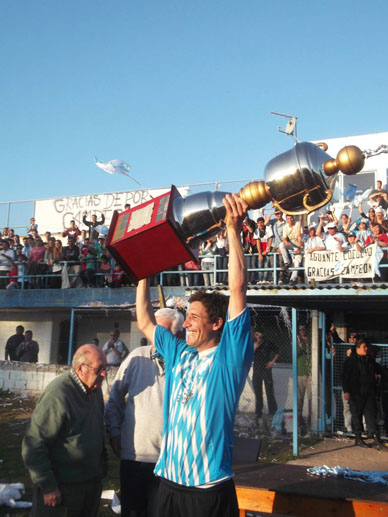 FUTBOL LIGUISTA-TORNEO APERTURA-ERNESTO GOLDRIZ:  Deportivo gritó ¡campeón!