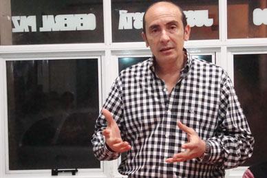 """Martín Salas: """"No cierro las posibilidades a nada ni a nadie. Yo no necesito preguntarle a Veramendi que puedo hacer…"""""""