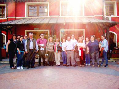 VISITA A LA FACULTAD DE CIENCIAS AGRARIAS DE UNIVERSIDAD NACIONAL DE LOMAS DE ZAMORA