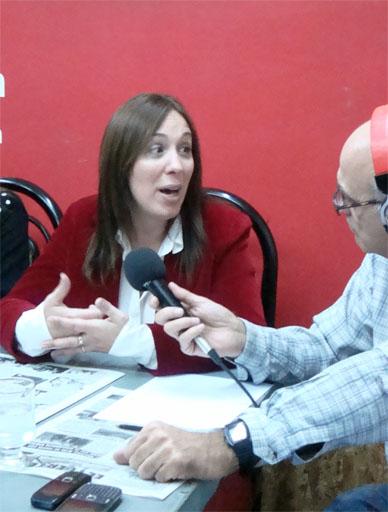 """María E. Vidal: """" Si tenemos el apoyo de los vecinos, no necesitamos otras alianzas """""""
