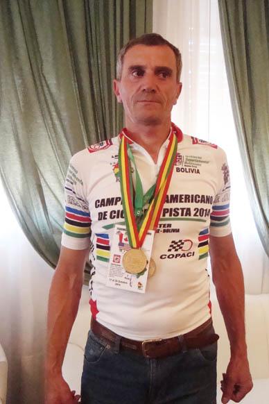 """Declaran """"Deportista Destacado del distrito"""" a Omar Fredes"""
