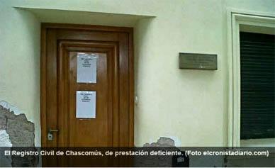 Chascomús: Aseguran que se solucionará la operatoria del Registro de las Personas