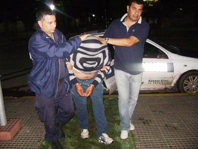 Secuestran parte de lo robado a Izurieta en Ranchos y detienen a uno de sus probables autores que ya recuperó la libertad