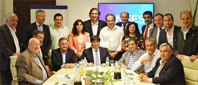 Bossio se reunió con intendentes bonaerenses para profundizar la inclusión jubilatoria, entre ellos el de Gral. Paz