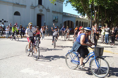 Se realiza este sábado la Peregrinación Ciclística a Lujan