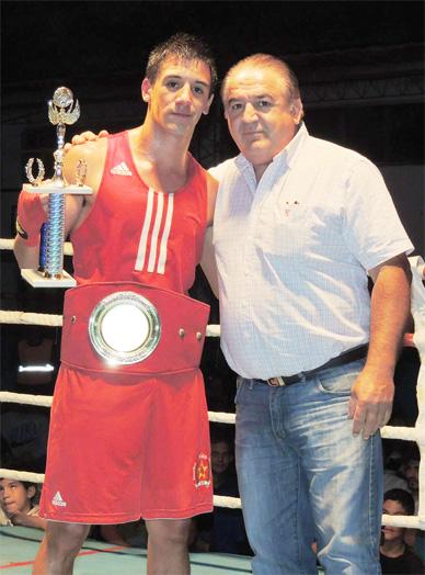 Nico Demario impuso condiciones en la pelea de fondo del sábado en el CEF