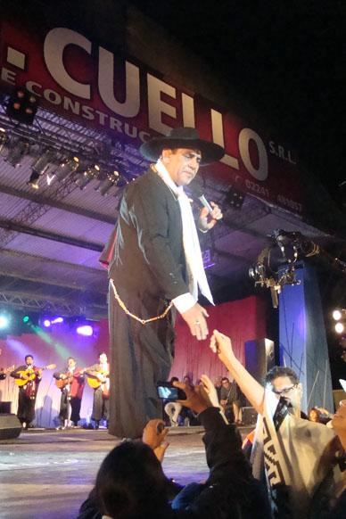 Festival de Fortines: con mas de 6.000 personas comenzó con el Chaqueño. Hoy L. Pereyra y mañana cierra A.Pintos