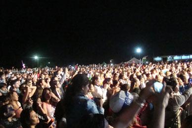 """El Festival de Fortines ya tiene Rey: """"Yo ya estuve aquí  y te dí mi amor"""". ABEL PINTOS"""