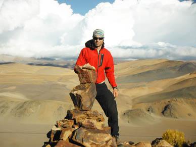 J. P. Uribarri: » Por ahora el objetivo está en llegar a los seis mil metros»