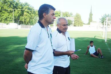 Comenzaron los entrenamientos de Atlético Ranchos con el regreso de Carlos Lamarque