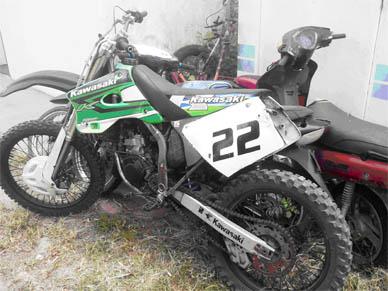 Ranchos: Secuestran moto que días atrás venía alterando el orden público en el pueblo