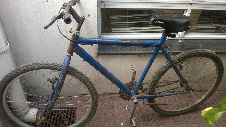 """Informe de la Policía Comunal de General Paz : """"Bicicleta Encontrada"""""""