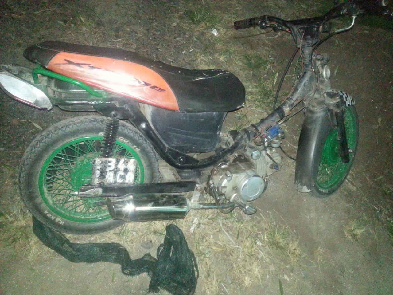 """Informe de la Policia Comiunal de Gral paz: """"Secuestro de Moto por Ruidos Molestos"""""""