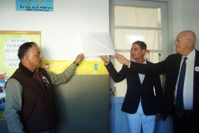Malvinas: digno acto centralizado en la Escuela 11 de Villanueva