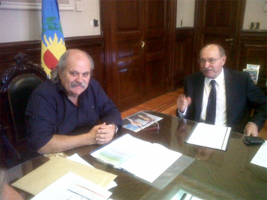 El Intendente Gobbi se entrevistó con el Ministro de Seguridad Provincial