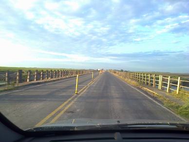 Desde este lunes quedarán habilitados los dos carriles del puente de Villanueva para el tránsito liviano
