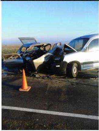 Informe Policía Cnal. Ranchos: Grave accidente en la Ruta 29 con un fallecido