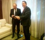 Gobbi se reunió con el Ministro Casal