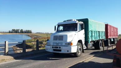 Entre General Paz y General Belgrano Ruta 29: Se habilitó el puente emplazado sobre el Río Salado para el tránsito pesado