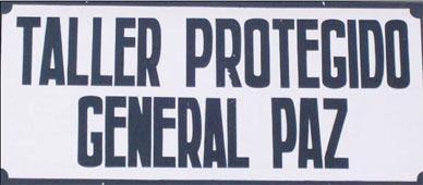 Nuevas Autoridades en le Taller Protegido de General Paz
