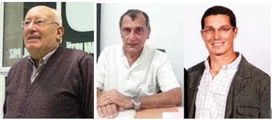Elecciones 2015: Entre estos tres hombres está el futuro intendente de General Paz