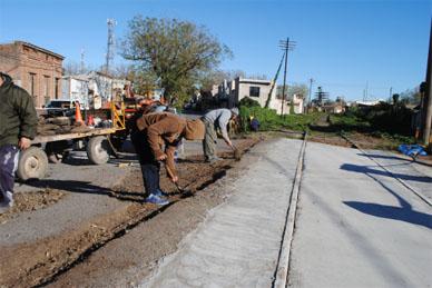 Chascomús: Se colocará asfalto en el cruce de Casalins y Franklin para su habilitación