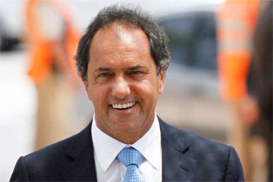 El gobernador Scioli este lunes a las 11 Hs inaugura la repavimentación de la ruta 20