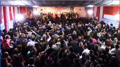 PJ Gral. Paz: Presentación de lista con mucha mística y más de 800 personas