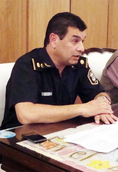 Crio. Mayor Arrubia: «Antes que jefe, el que conduce debe ser líder»