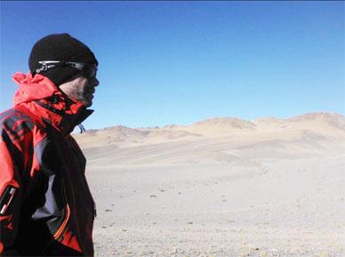 Juan P. Uribarri alcanzó sus 5.000 Mts y arañó los 6.000 en Catamarca