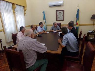 Chascomús: Gastón recibió a los intendentes de los distritos de la zona