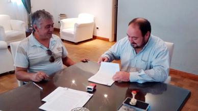 Municipalidad de Gral. Paz: Firma de Contrato de Concesión del Camping Río Salado