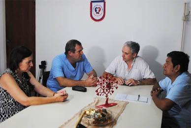Chascomús: Por la labor desempeñada en la atención al policía herido, el Intendente Javier Gastón felicitó personalmente al equipo de trabajadores del Hospital Municipal.