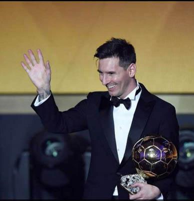 BALON DE ORO: Balón de Messi