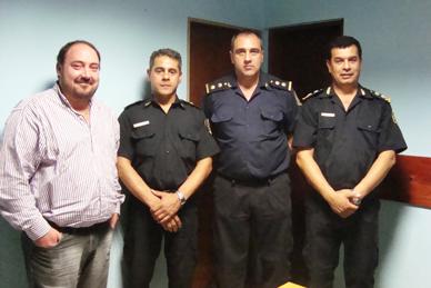 General Paz: Fueron puestas en función las nuevas autoridades policiales