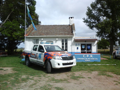 General Paz: Nuevo móvil para la Patrulla Rural