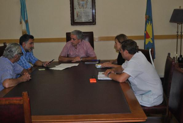 CHASCOMUS: El Intendente se reunió con el Director Nacional de Centros Integradores Comunitarios