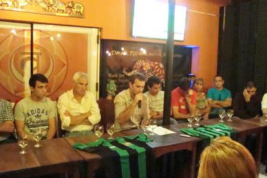Atlético Ranchos: El jueves por la noche se presentó la lista que podría quedar al frente del Club Verdinegro